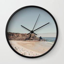 Beach Summer Love (two) Wall Clock