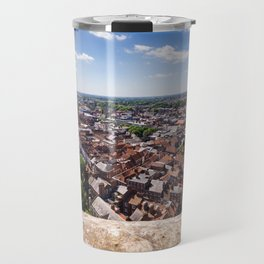 View of York from York Minster Cathedral tower Travel Mug