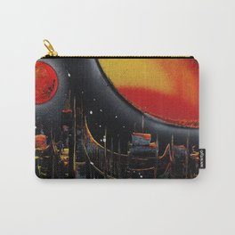 Moonlight Over The Shifting City Carry-All Pouch
