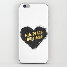 N.O. Place Like HOME iPhone & iPod Skin