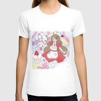 puppycat T-shirts featuring Bee & puppycat ver 1 by Kurodoj