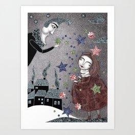 Snow Stars Fine, Snow Stars Mine Art Print