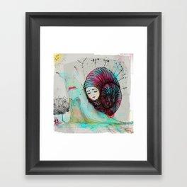 Caracool calor Framed Art Print