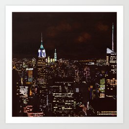 New York Perspective Art Print