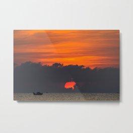 Vietnamese Sunset Metal Print