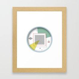 Concept Framed Art Print