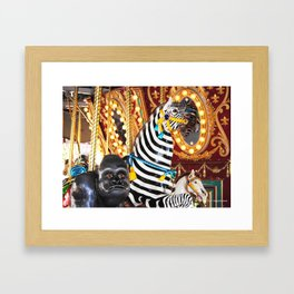 So Many Choices! Framed Art Print