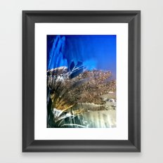 views from the window Framed Art Print