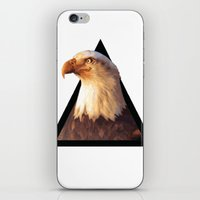 eagle iPhone & iPod Skins featuring EAGLE by eARTh