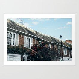 Cadogan Lane #1 Art Print