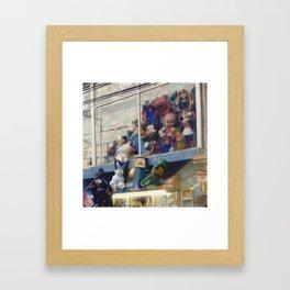 Piñatas Framed Art Print