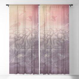 Potion Sheer Curtain
