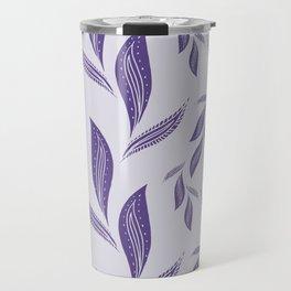 Ultraviolet Foliage #society6 #pattern #ultraviolet Travel Mug