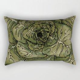 Collard Greens Rectangular Pillow