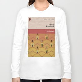 300, movie poster, penguin book version, Frank Miller, graphic novel Long Sleeve T-shirt