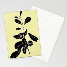 Goat's Foot (also known as Mauve Convolvulus, Beach Potato Vine, and Morning Glory) - Ipomoea pes-ca Stationery Cards