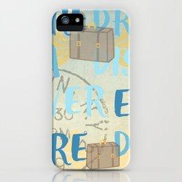 Explore Dream Discover iPhone Case