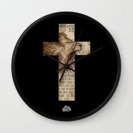 Leon de Juda Wall Clock