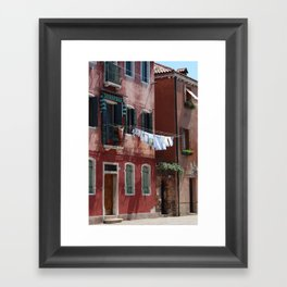 murano Framed Art Print