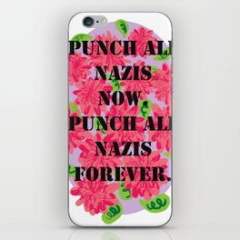 Punch All Nazis iPhone Skin
