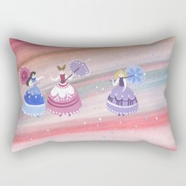 Three princesses Rectangular Pillow