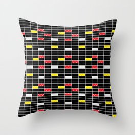 Pop Art pattern Throw Pillow