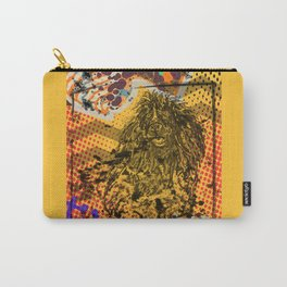 Poodle pop art Carry-All Pouch