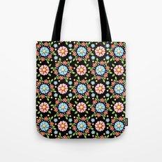 Millefiori Pinwheel Pattern Tote Bag