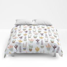 Flower pattern in pots Comforters