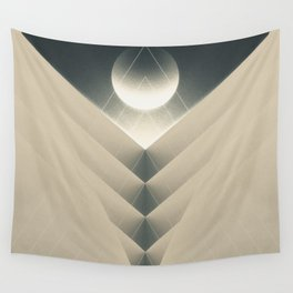 Expected Downfall Wall Tapestry
