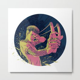 The Good Die Young Metal Print
