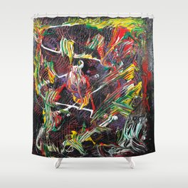 Just a Couple of Kooks Romancing Shower Curtain