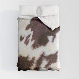 Faux Fur Cowhide Comforters