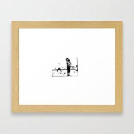 Shaving private C433-244 Framed Art Print