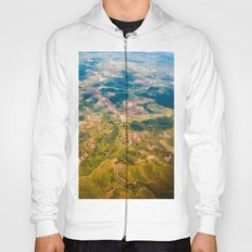 Land from the sky Hoody