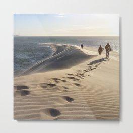 surfEXPLORE Western Sahara Metal Print