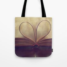 Love of the Book Tote Bag