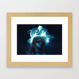 Dreams In Lovecraft Framed Art Print