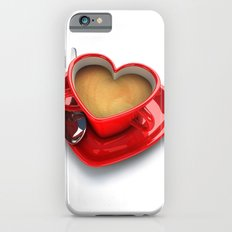 Heart Coffee Cup Slim Case iPhone 6s