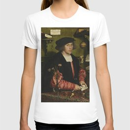 Hans Holbein the Younger - The Merchant Georg Gisze T-shirt