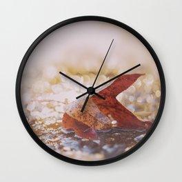 LAST GOODBYE Wall Clock