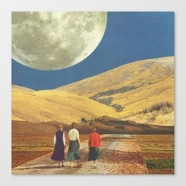 Unfinished Journey Canvas Print