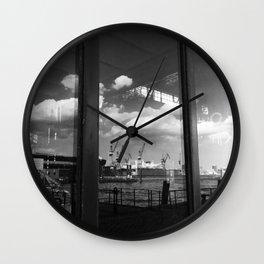 reflections III Wall Clock