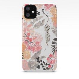 Stalking Leopard iPhone Case