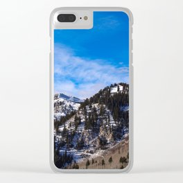 The Wasatch Front Clear iPhone Case
