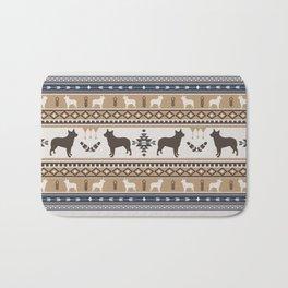 Boho dogs | Australian cattle dog tan Bath Mat