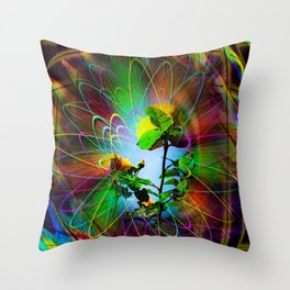 Abstract - Perfection - Fertile Imagination Throw Pillow