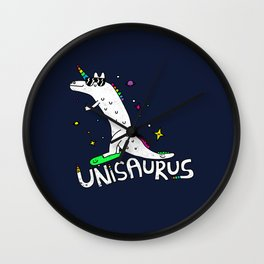 Unisaurus Wall Clock