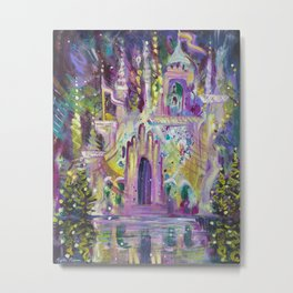 Once Upon A Castle Metal Print