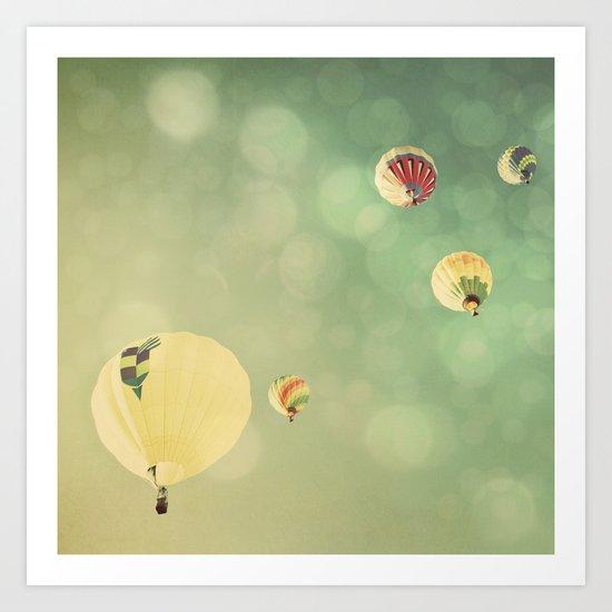 Sunshine & Big Sky Art Print